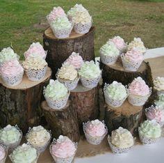 cupcakes-hochzeitstorte-rustikal-herbst-hochzeit-farben-pastell-minze-rosa