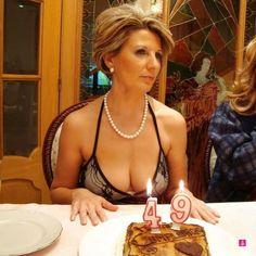 49yo cleavage