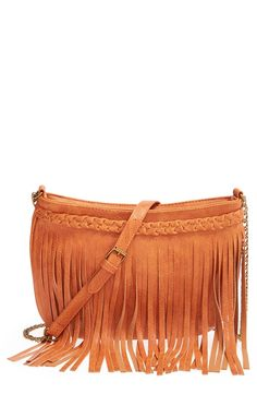 I desperately want a fringed crossbody bag and this fits the bill cheaply!  Braids! Fringe!