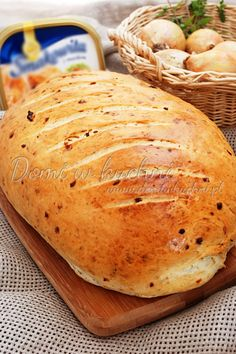 Bread Recipes, Bakery, Food And Drink, Appetizers, Cooking, Breads, Kitchens, Brot, Cuisine
