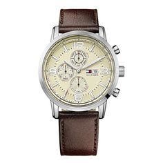 Relógio Tommy Hilfiger Masculino Couro Marrom - 1710337