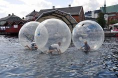 Water fun in  #Pollen #Arendal  #Norway  Doesn't this look like SOO much fun?
