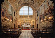 View of the Palatine Chapel  1800s  Fresco  Galleria Palatina (Palazzo Pitti), Florence