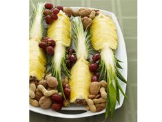 A modern take on a retro favorite, this beautiful platter is always a hit at family gatherings. So simple to prepare ahead, healthy and refreshing—plus it won't spoil their dinner!