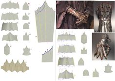 Lord of the Rings - Witch King Gauntlet Templates