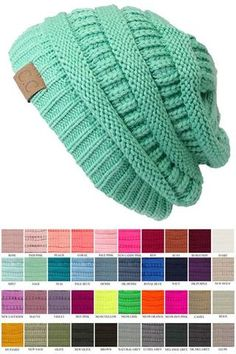 Our new favorite find for fall and winter 2019 - warm and stylish beanie knit hats from CC brand.These high quality acrylic knit beanie hats are soft and slouch Knit Beanie Hat, Beanies, Cc Hats, Cable Knit Hat, Slouchy Hat, Pretty Outfits, Pretty Clothes, Hats For Women, Dame