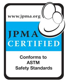 The JPMA Certification Seal on a product tells consumers a product has been sample tested to the highest category specific standards establi...