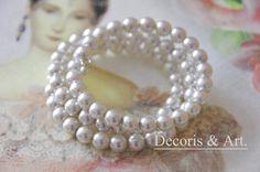 bransoletka z perełkami
