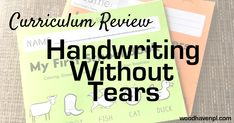 Handwriting Without Tear Without Tears Teaching Cursive Writing, Kindergarten Handwriting, Handwriting Without Tears, Improve Your Handwriting, Improve Handwriting, Handwriting Alphabet, Nice Handwriting, Kindergarten Writing, Pre Writing