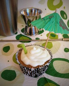 The Plus Size Life of a BumbleBee: Recipe: Caipirinha Cupcakes