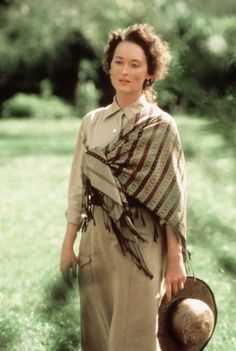 Pin for Later: Meryl Streep's Award History Is So Crazy, You May Not Believe It Out of Africa, 1985  The role: Karen, a Danish aristocrat who moves to Africa in 1913   The nominations: Oscar, BAFTA, and Golden Globe What did she win? Nothing