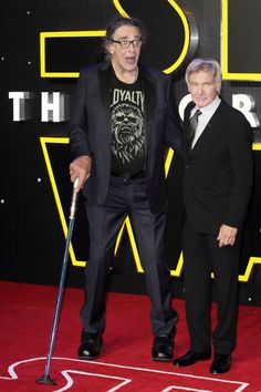 Peter Mayhew and Harrison Ford - Star Wars Force - 12 Peter Mayhew, Harrison Ford, New Star, Star Wars, Entertainment, Stars, People, Starwars, People Illustration