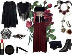 """""""Neo victorian inspired outfit."""" by sherlock-tardis ❤ liked on Polyvore"""
