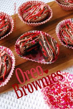 DSC_0087-004 Oreo Brownies for Valentine's Day! So cute, quick, and easy! :)