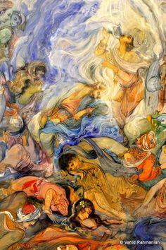 persian Art Ancient Persia, Iranian Art, Artist Painting, Art And Architecture, Love Art, Art Inspo, Aesthetics, Miniatures, Comic