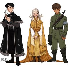 Movies And Series, Book Series, Character Concept, Character Art, Character Design, Fanart, Bone Books, Hogwarts, The Darkling