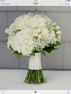 A bridal bouquet....beautiful and a good DIY