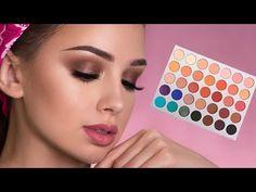 Brown Smokey Eye Makeup Tutorial   Jaclyn Hill x Morphe Palette http://makeup-project.ru/2017/06/28/brown-smokey-eye-makeup-tutorial-jaclyn-hill-x-morphe-palette/