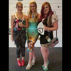 Nicole Hoyer Designs SAFW 2015 The designer (centre) in her own gorgeous dress! South African Fashion, African Fashion Designers, Gorgeous Dress, Centre, Capri Pants, Dresses, Capri Trousers, Vestidos, Dress