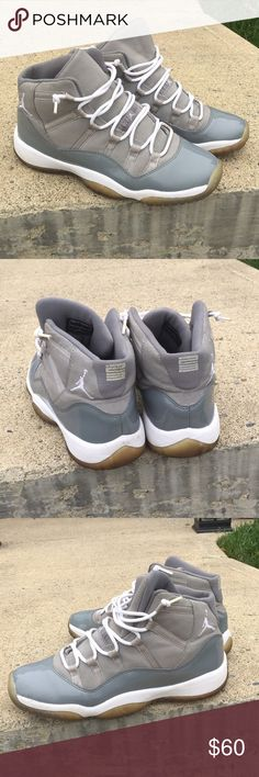76c438ae972ef4 Jordan 11 cool gray 5 10 cracking at the back