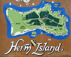 Map of Herm - Herm (Guernésiais: Haerme) is one of the Channel Islands and part of the Parish of St Peter Port in the Bailiwick of Guernsey.