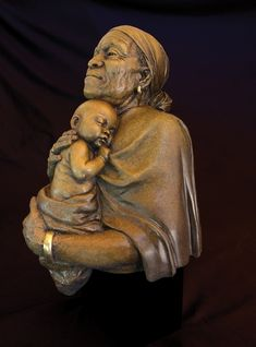 Embracing the Future-African American Sculpture by Thomas Blackshear