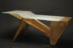 Custom Furniture - Tiger Table  | John Grinstead | Archinect