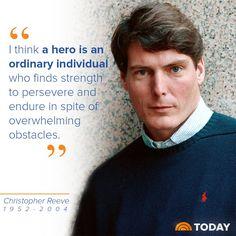 Christopher Reeve (September 25, 1952 ~ October 10, 2004)