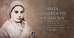 Santa Bernardita - Risultati Yahoo Search Results della ricerca di immagini Santa Bernardita, Santa Bernadette, Religion Catolica, Our Lady Of Lourdes, Catholic, Faith, Blog, Yahoo Search, Christ