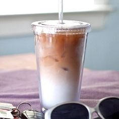 Iced Vanilla Macchiato - save the $5 for Happy Hour! #foodgawker