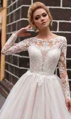 Свадебное платье Naviblue Bridal LOUISE-17016 ▷ Свадебный Торговый Центр  Вега в Москве 869aaaa3826