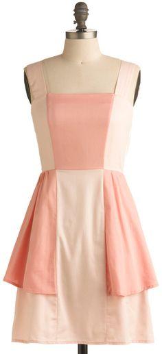 ModCloth  Sweet Georgia Peach Dress