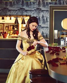 Sooo... I have never seen Once Upon A Time before but I just found out Belle is on it so I guess I will be watching it now...:D