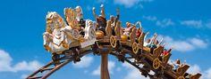 Viziteaza cele mai spectaculoase parcuri de distractie ale Europei! Parka, Disneyland, Ceiling Lights, Europe, Disney Land, Ceiling Lamp, Disney Resorts, Ceiling Lighting