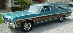'68 Chevrolet Caprice, Car Chevrolet, Big Girl Toys, Car Station, Sports Wagon, Old Wagons, Impalas, Sweet Cars, Us Cars