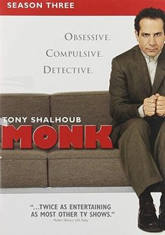 Tony Shalhoub & Bitty Schram - Monk: Season 3