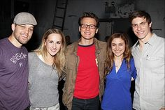 Cast with Jonathan Groff. Carrie The Musical, Carry On, Musicals, Broadway, It Cast, Couple Photos, Couples, Couple Shots, Hand Luggage