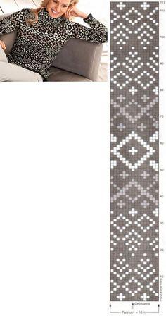 Fair Isle Knitting Patterns, Knitting Stiches, Fair Isle Pattern, Knitting Charts, Fair Isle Chart, Norwegian Knitting, Needlepoint Patterns, Double Knitting, Shibori