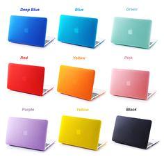 NEW Matte Hard Case Cover For Macbook Mac book 11 13 15 Air Pro Retina 11.6 12 13.3 15.4 inch Laptop Cases