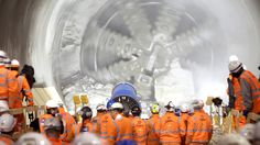 Deep in the bowels of London, machines carve out huge tunnels for the ambitious Crossrail transport project.