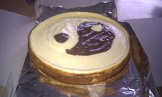 Yin si yang cheesecake  This is made by Cheesecake Romania