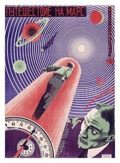 Nikolai Prusakov & G.I Borisov, A Trip to Mars, c.1926