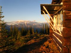 Cabin with a view