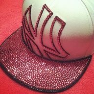 gorgeous spin on the traditional baseball cap