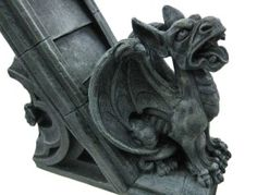Traditional Gargoyle Bookends