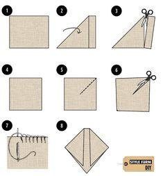 DIY Blanket Cape -