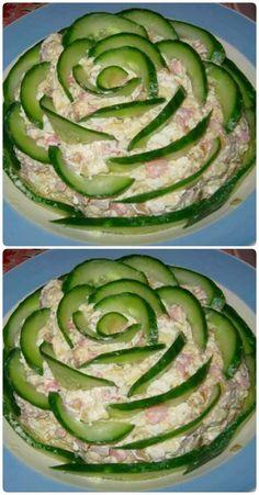 Cold Vegetable Salads Asian Tacos Salad Design Appetizer Salads Appetizers For Party Estonian Food Vinagrete Food Platters Hors D Oeuvre Food Carving, Food Platters, Meat Trays, Meat Platter, Food Garnishes, Veggie Tray, Vegetable Salads, Cooking Recipes, Healthy Recipes