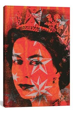 iCanvas 'Long Live the Queen' Giclee Print Canvas Art