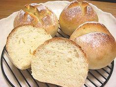 卵・牛乳・バターなし★もちっりパン★の画像
