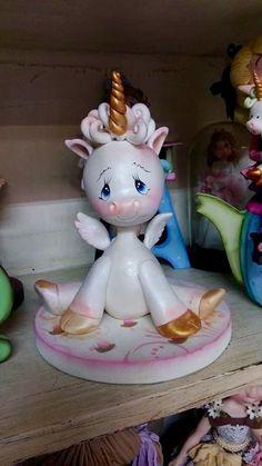 Unicornio bebe Atelierlulumendoza@hotmail.com